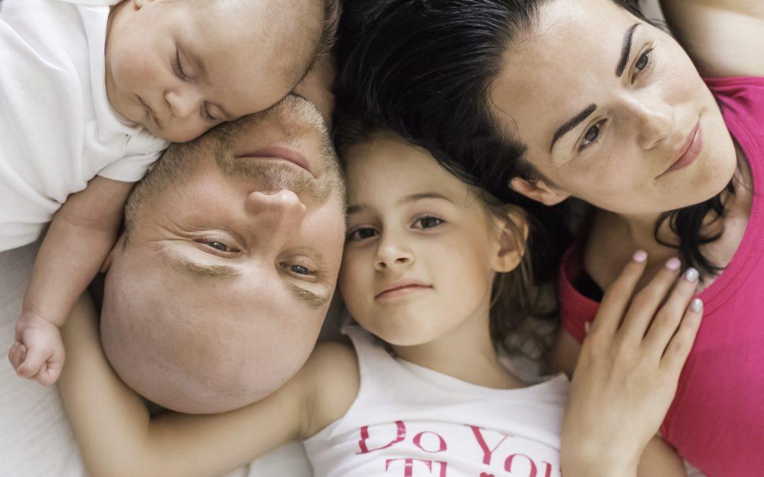 Mladá rodinka